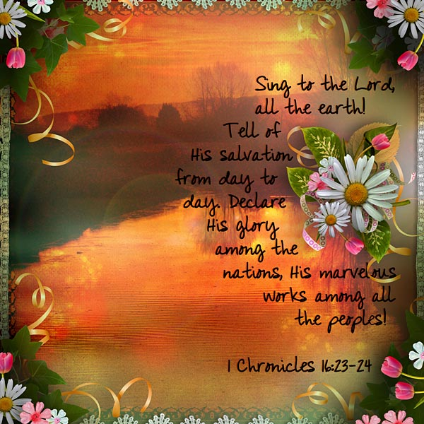 70 Best Images About Walk Your Family Through The Bible On: Layout For Today: Declare His Glory