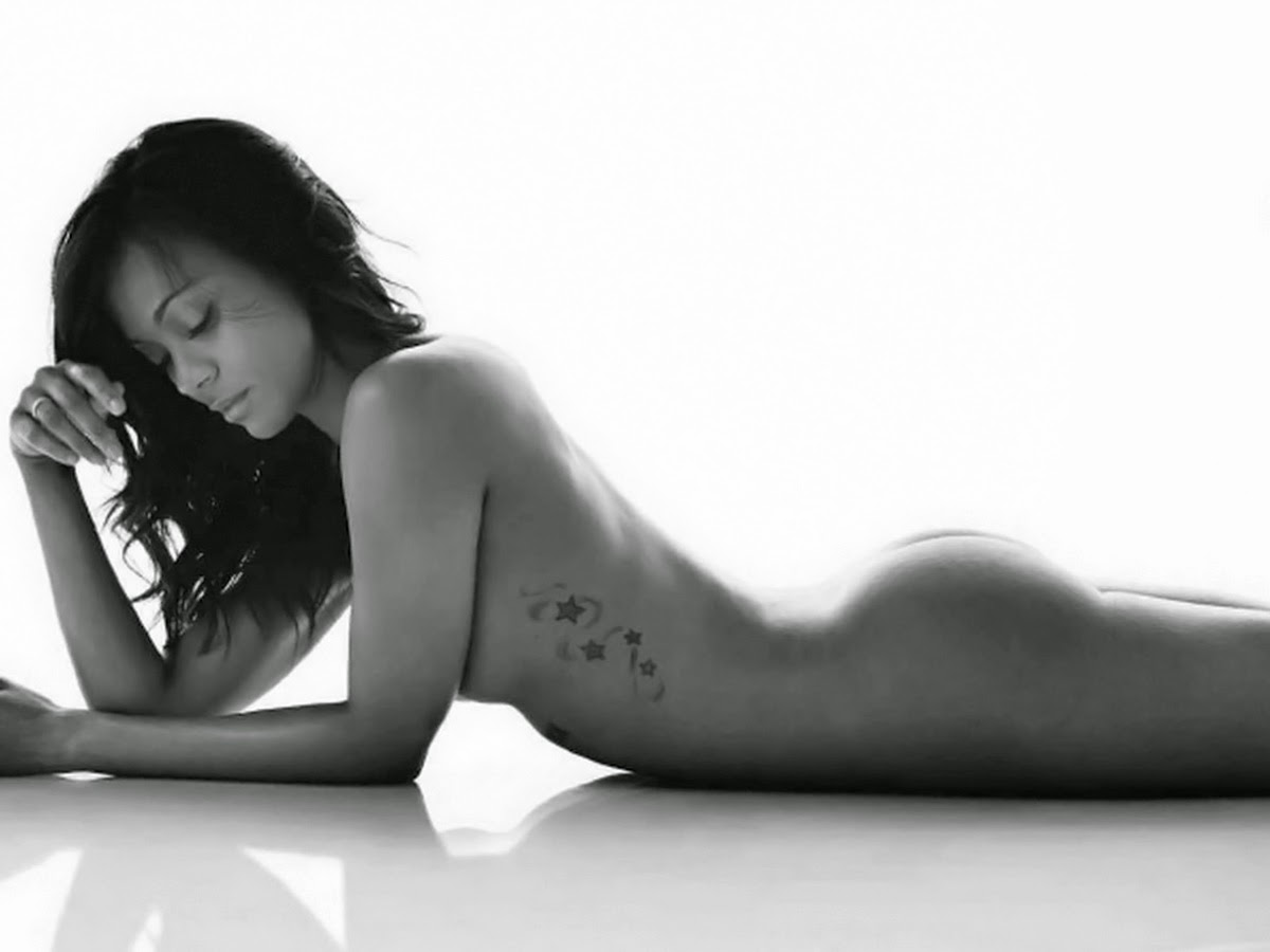 Zoe saldana nude magazine opinion you