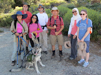 Hikemasters group ready to hike Mt. Williamson