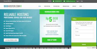 Web Hosting BEOhoster.com