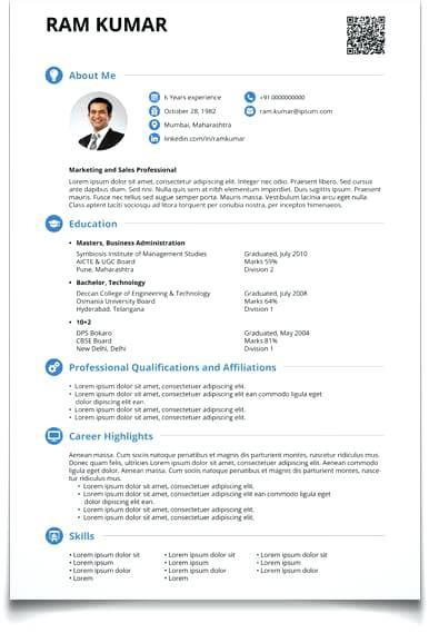 Resume Cv Maker 2019 - Lebenslauf Vorlage Site