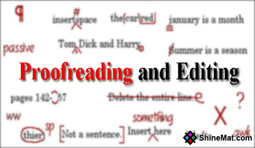 English Proofreading Services