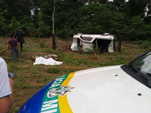 Casal morre em grave acidente de trânsito ocorrido ess fim de semana em Buritis