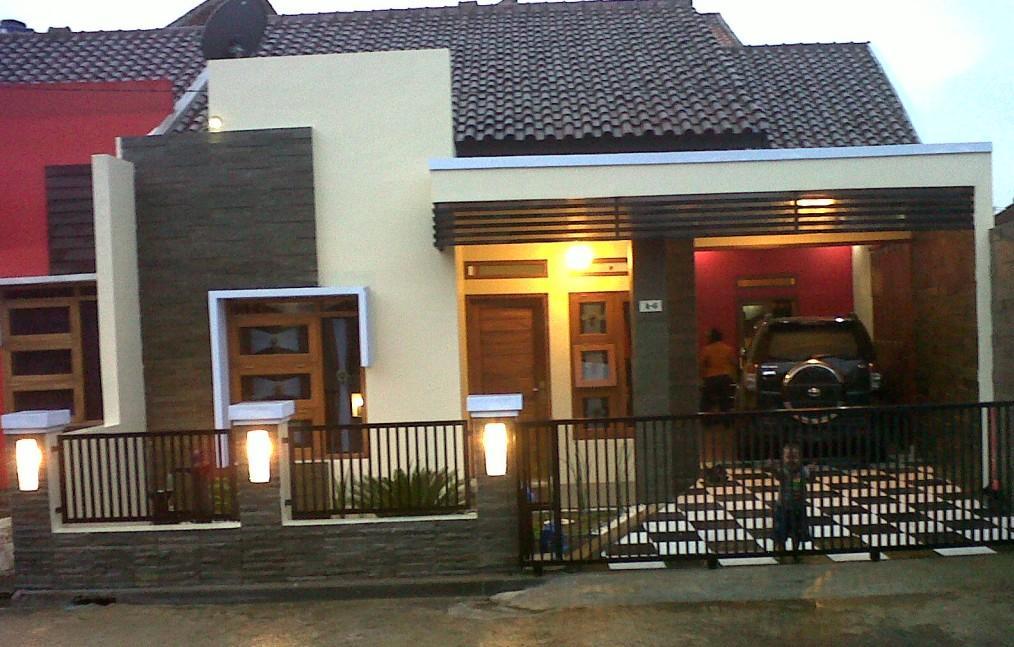 Pagar Rumah Minimalis Pendek - Rumah Joglo Limasan Work