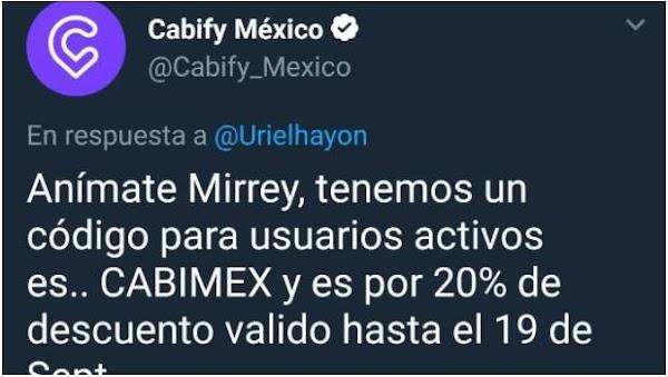 """""""Anímate Mirrey"""": Cabify promociona servicio en medio de la tragedia de Mara Fernanda"""