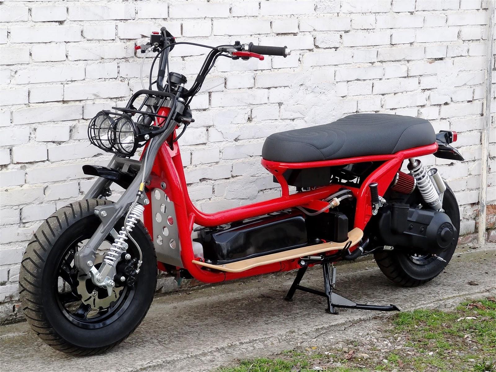 b r moto art honda cn 250 wave red line br054. Black Bedroom Furniture Sets. Home Design Ideas