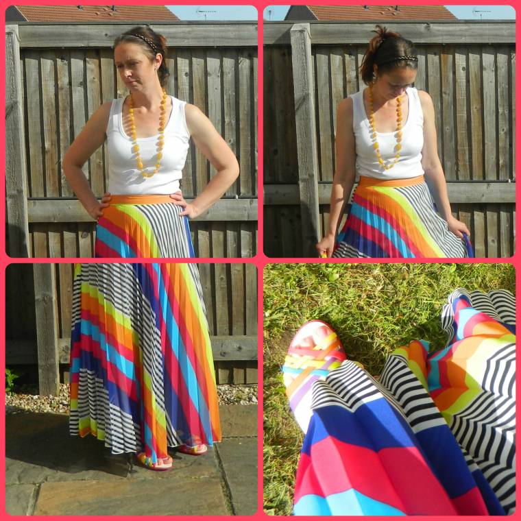 Favourite Maxi Skirt And My Sons Big Race