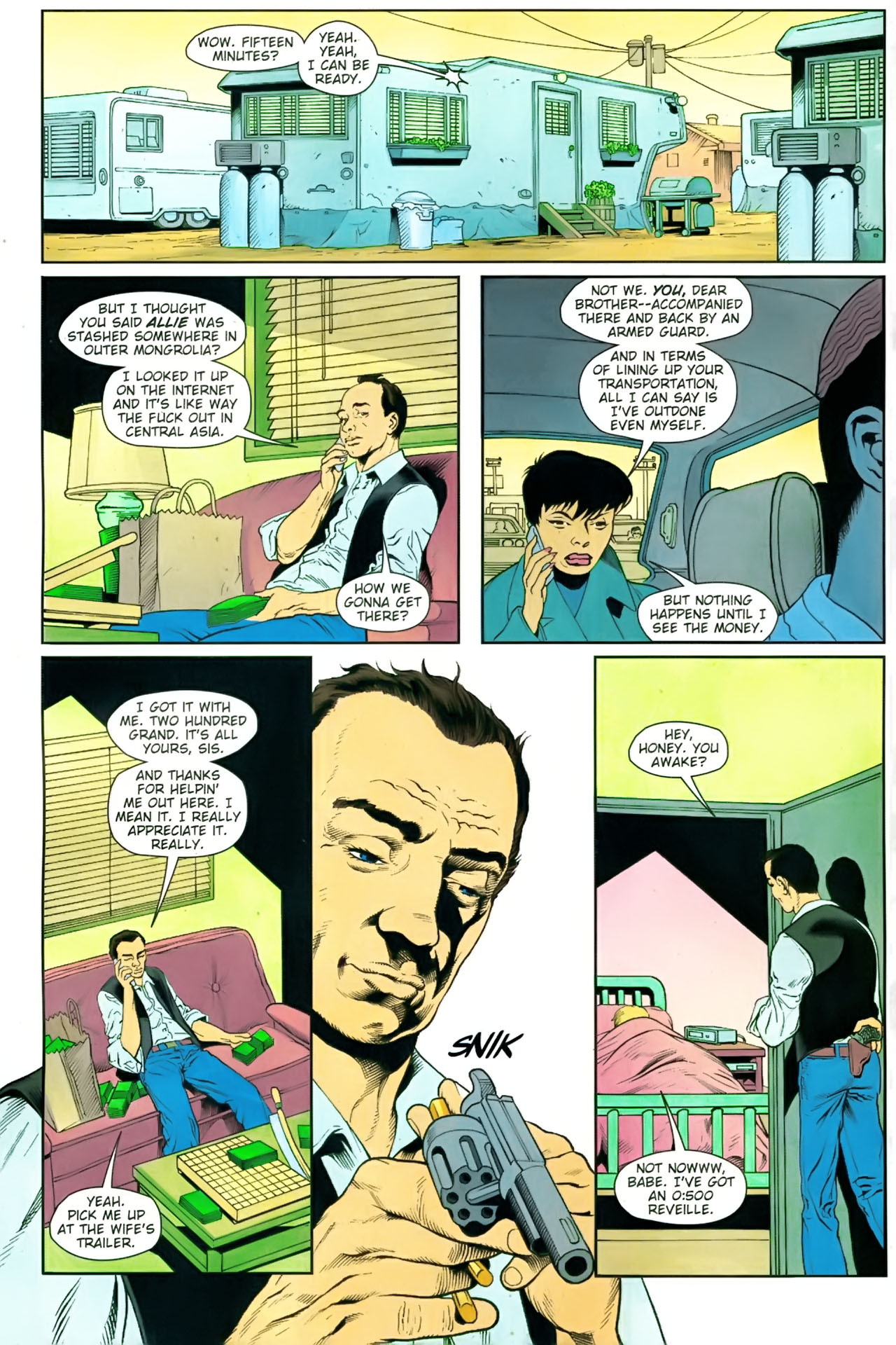 Read online Army @ Love comic -  Issue #9 - 9