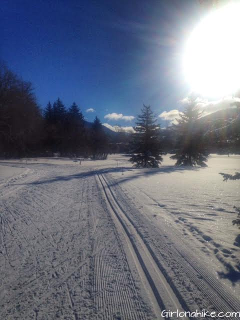 Mountain Dell Recreation Area, Mountain Dell cross country skiing