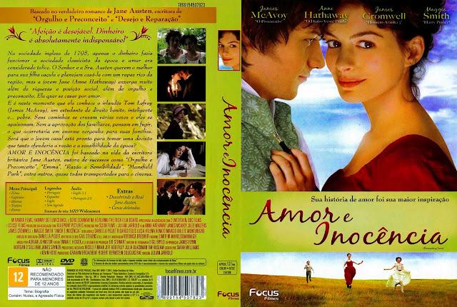 Capa DVD Amor e Inocência