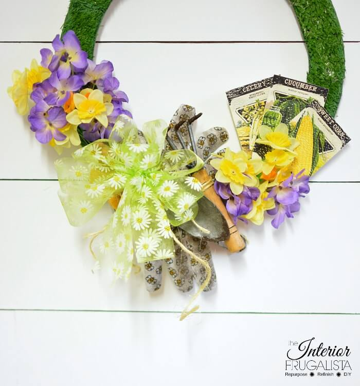 Easy Spring Garden Lovers Handmade Wreath