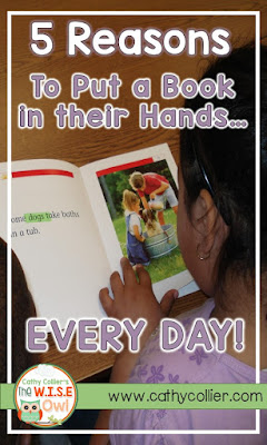 A new book EVERY DAY...no matter what? Emergent readers need lots of practice with text. Giving them a new book to add to their book bag every day lets them Practice, Build Word Wall Word Knowledge, Create Responsibility, Foster Independence, and Ensure a LOVE of reading. What more could we ask for?