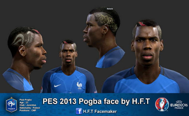 PES 2013 Paul Pogba New Face