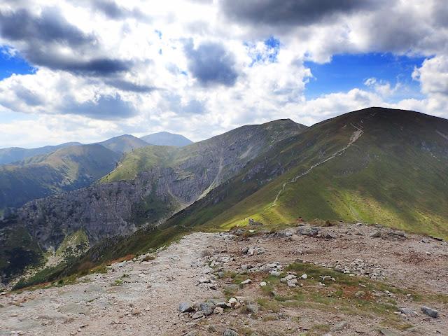 Kondrackie widoki na Tatry Zachodnie