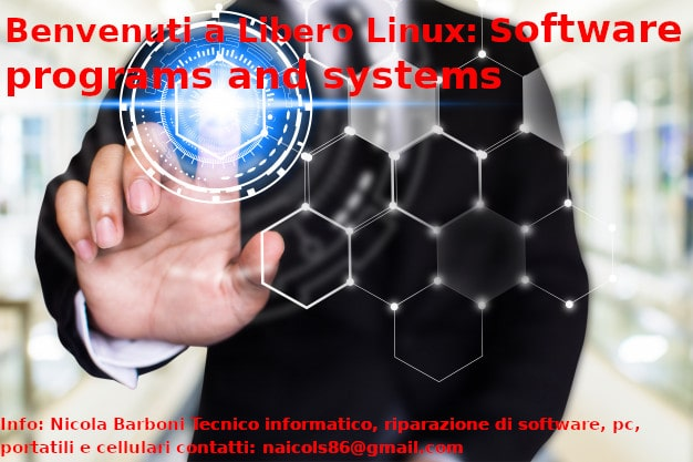 Libero Linux: Software programs and systems