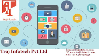 Mobile Application for Digital Marketing - Traj Infotech