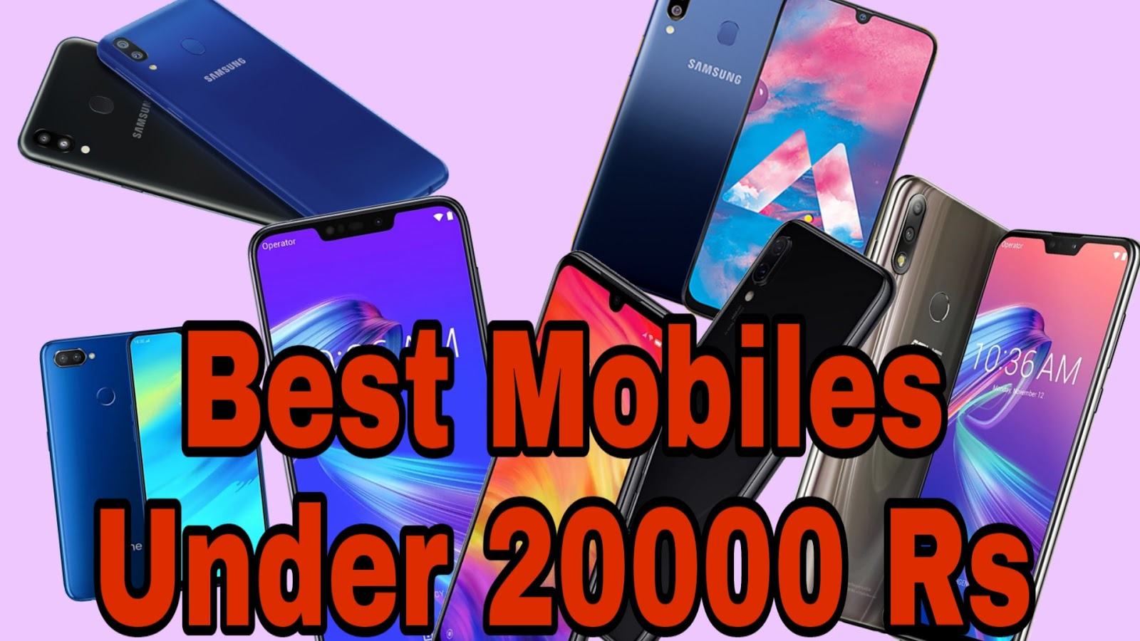 Best Mobile Phones Under 20000 Rs | My Opinion - GBS Infinity