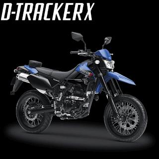 Pilihan Warna Kawasaki D-Tracker X-250 Terbaru