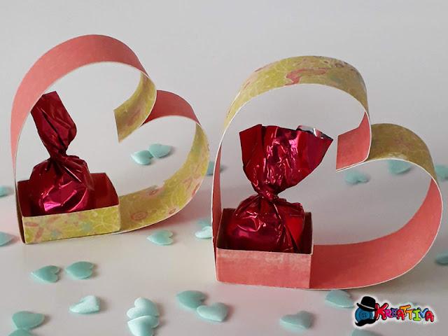 cuore di carta 3d