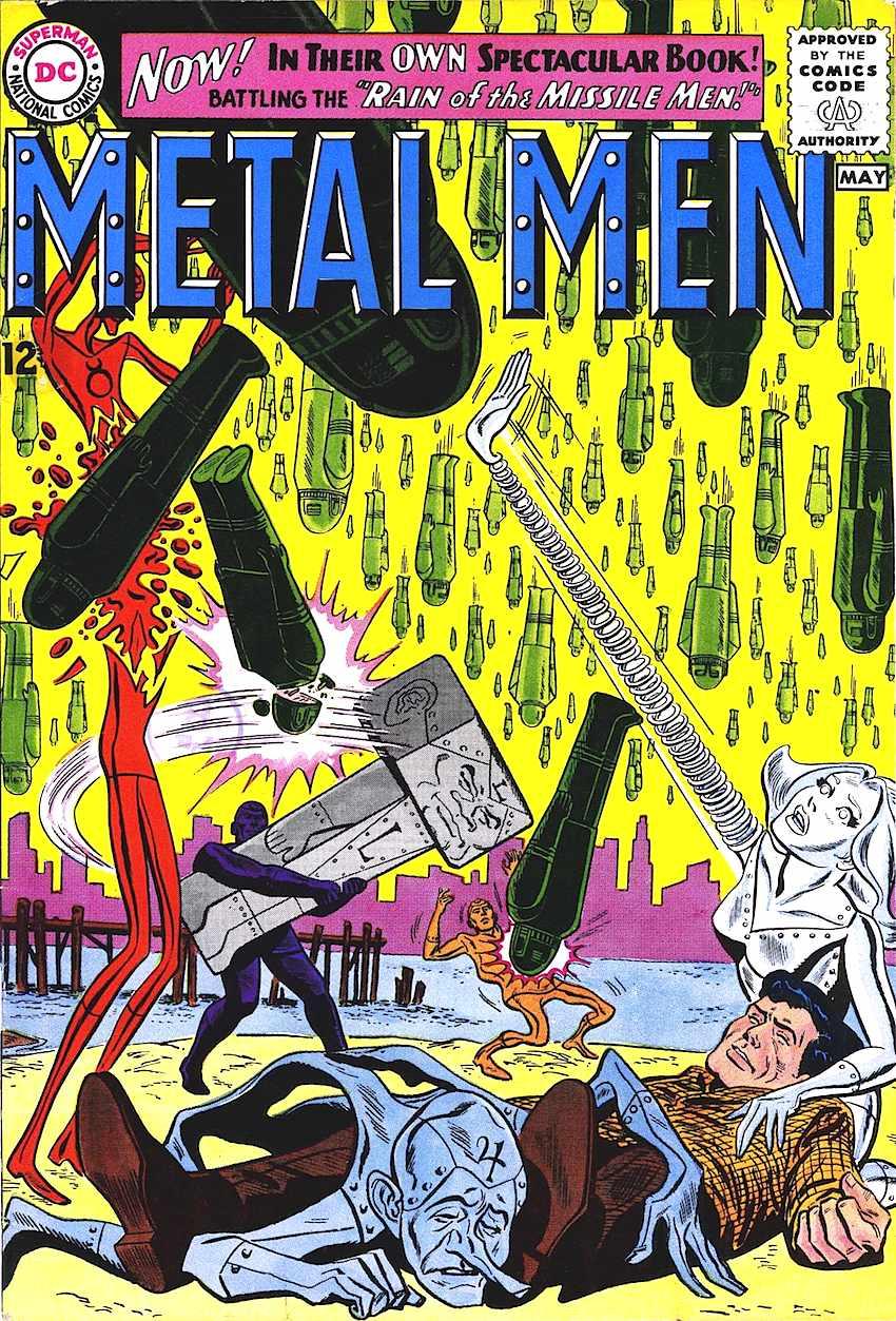 Metal Men comic 1960s