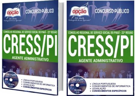 Apostila CRESS-PI 2017 Agente Administrativo