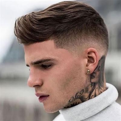 corte de cabello hombre faded