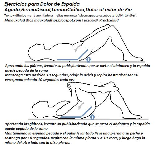 Ejercicios para la ciatica imagenes