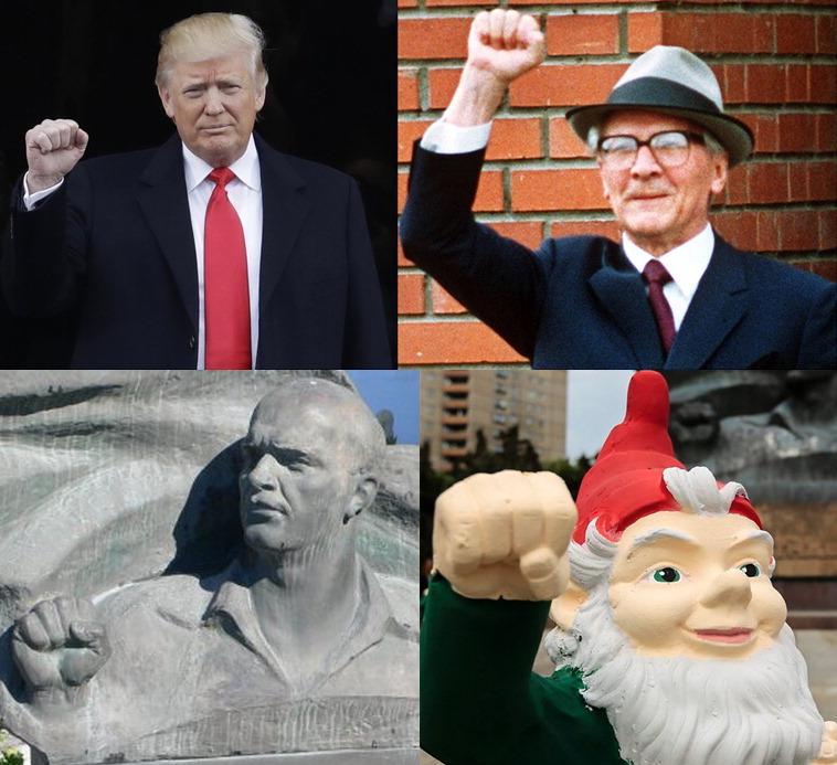Donald Trump - Arbeiterfaust