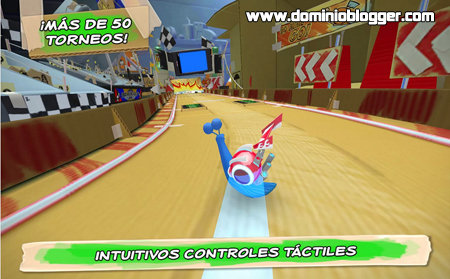 Juega gratis a Turbo Racing League