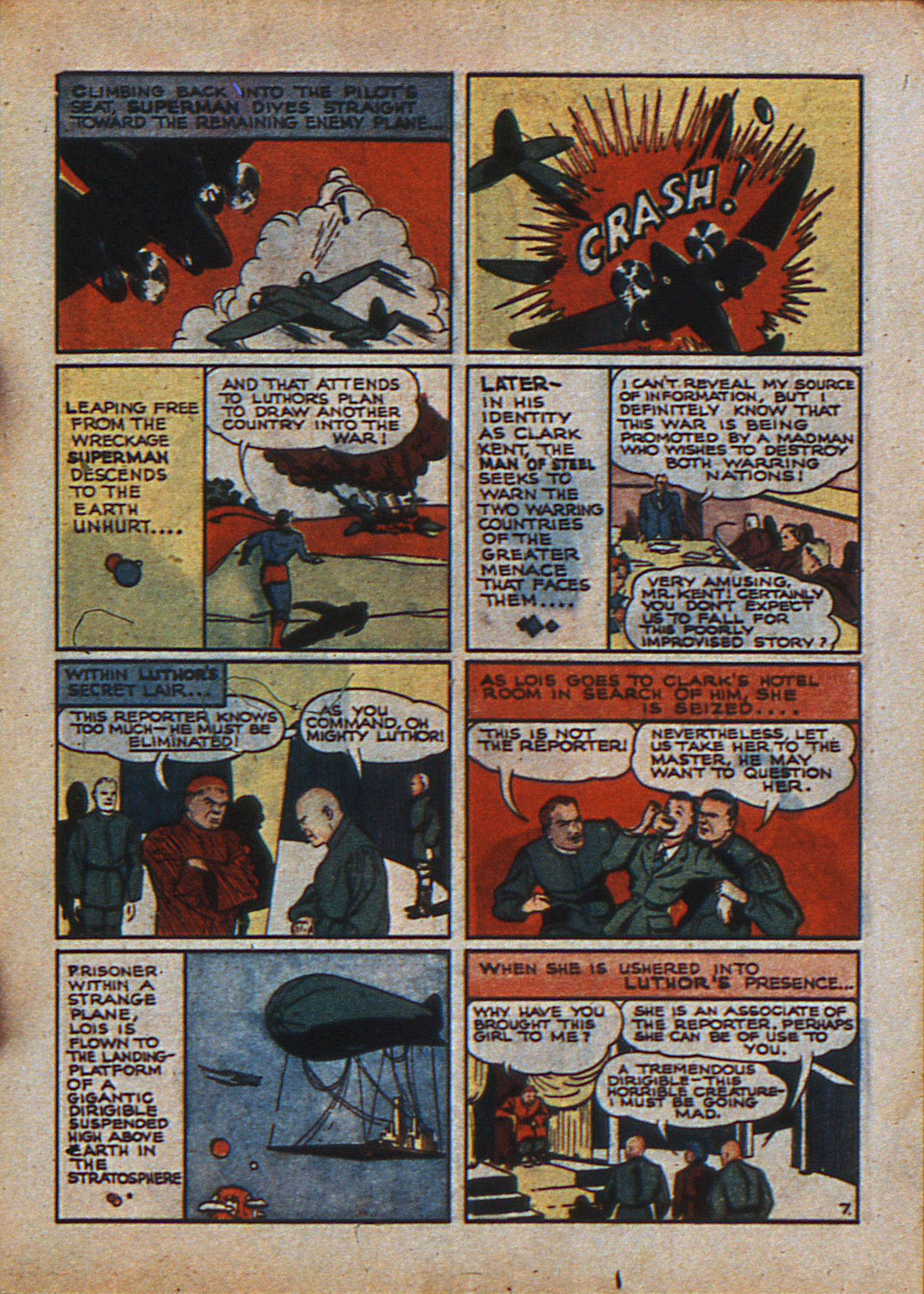 Read online Action Comics (1938) comic -  Issue #23 - 10