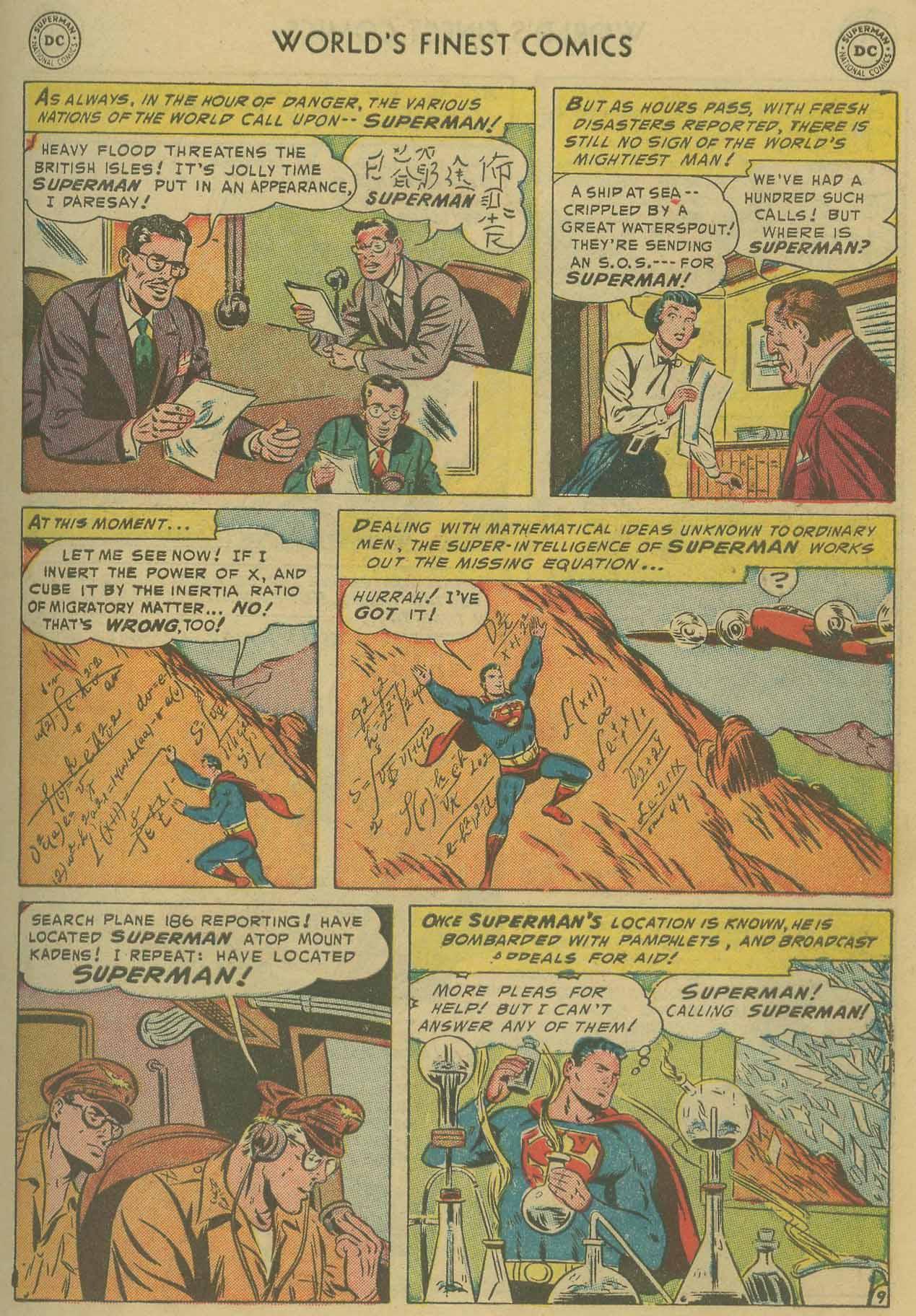 Read online World's Finest Comics comic -  Issue #69 - 11