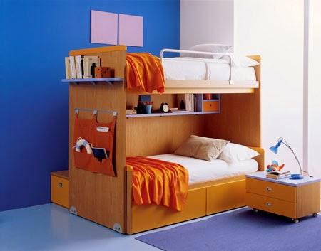 cama infantil espacio reducido