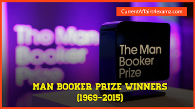 Man Booker Prize Winners List