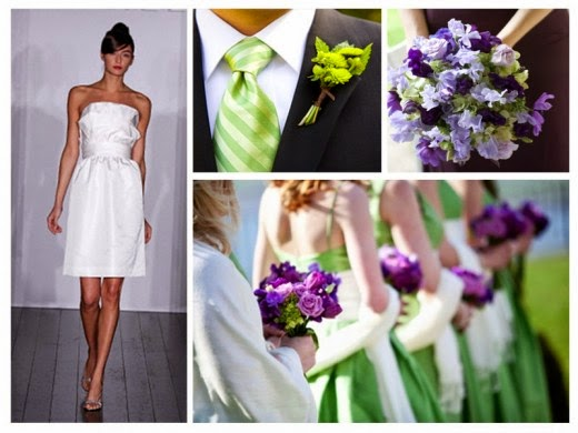 Choose Purple Dresses For Your Wedding Or Party