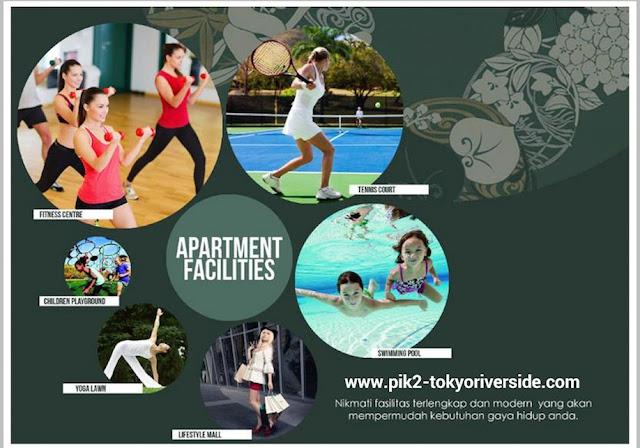 Tokyo Riverside PIK 2 Apartment Facilities