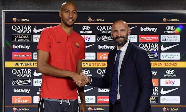 Roma sign €30m World Cup-winner Nzonzi from Sevilla