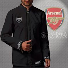 Baju koko distro bola arsenal