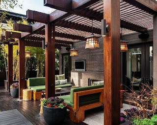 How to make an elegant terrace House and comfortable