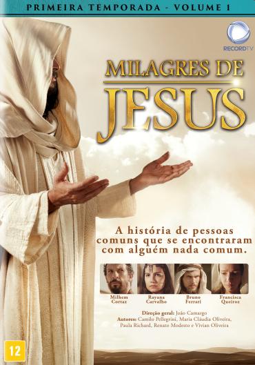 Série Milagres de Jesus primeira temporada apresentada pela Record TV.