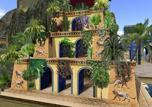 Hanging gardens of babylon desktop wallpapers - What are the hanging gardens of babylon ...