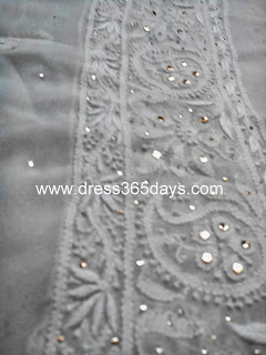 Dupatta - Golden kamdani work
