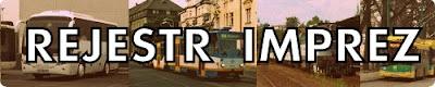 Zestawienie wydarzeń transportowych
