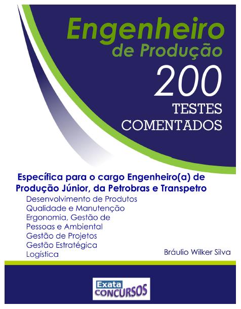 https://livrariaexata.com.br/produto/200-questoes-com-gabarito-comentado-engenheiro-de-producao/