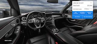 Nội thất Mercedes AMG GLC 43 4MATIC 2018 màu Đen chỉ Đỏ 241