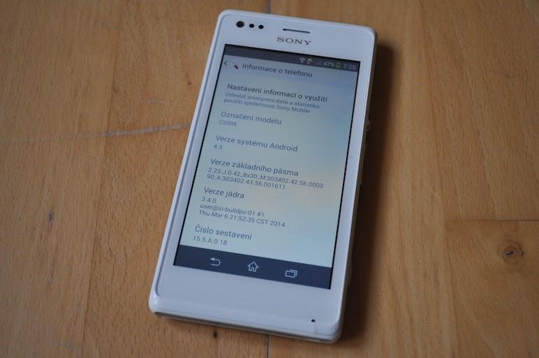 Cara Flashing Sony Xperia M Dual C2005 | Tamiento