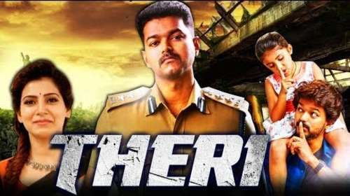 Theri 2016 HDRip 450MB UNCUT Hindi Dual Audio 480p Watch Online Full Movie Download bolly4u