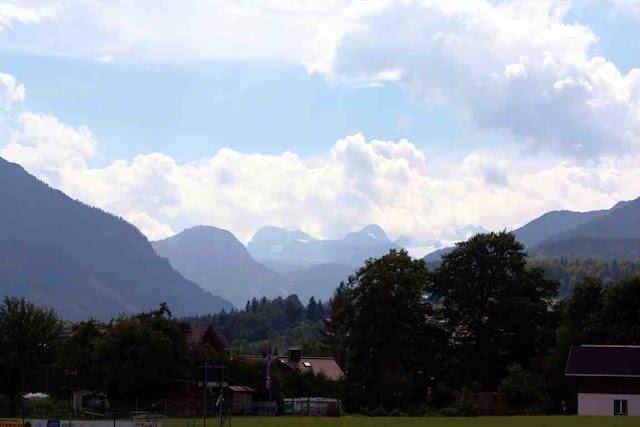 Blick auf den Dachstein von Altaussee © Copyright Monika Fuchs, TravelWorldOnline