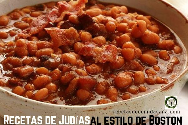 Receta de Judías al Estilo Boston, comida sana para hacer en casa.