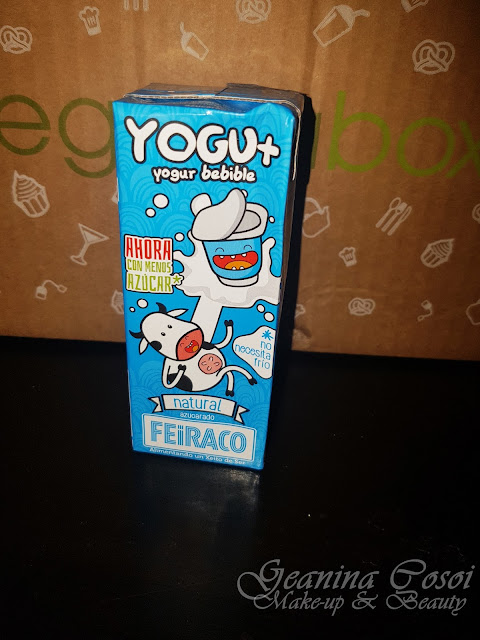 Yogu+ yogur bebible Caja Mensual Degustabox - Enero 2017