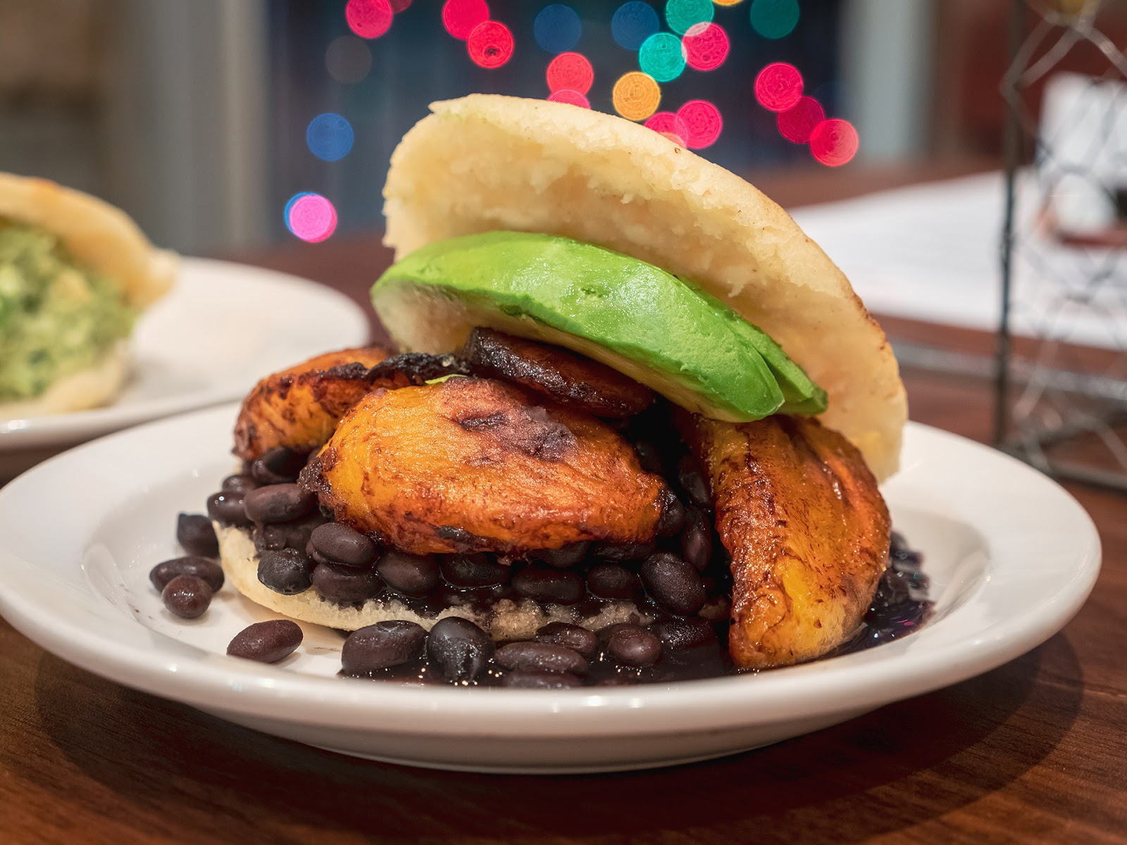 Local Food Rocks La Calle Arepa Vegana
